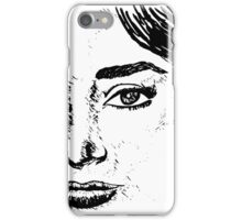 Audrey's Face iPhone Case/Skin