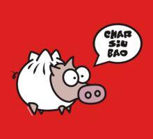 Dim Sum Pig - Char Siu Bao One Piece - Short Sleeve