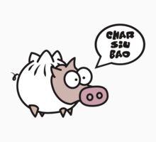 Dim Sum Pig - Char Siu Bao Kids Tee