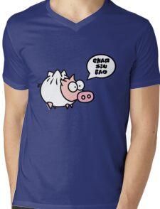 Dim Sum Pig - Char Siu Bao Mens V-Neck T-Shirt