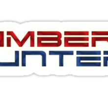 Number Hunters Sticker