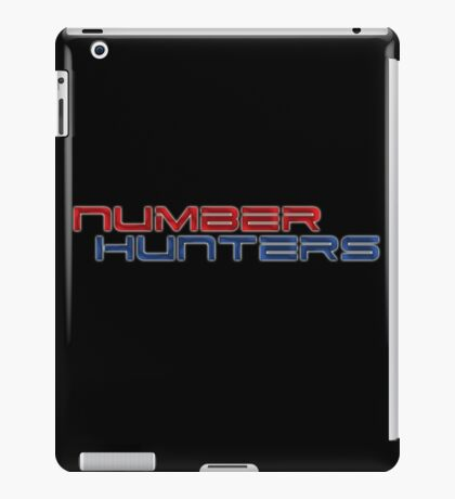 Number Hunters iPad Case/Skin