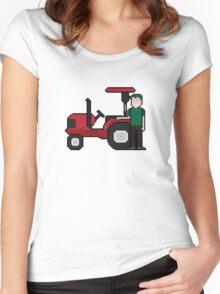 8Bit-ified (Trevor) Women's Fitted Scoop T-Shirt
