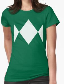 Green Ranger Tee Womens Fitted T-Shirt
