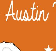 Keep Austin 2 Sticker