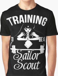 Training to be a Sailor Scout (Mars) Graphic T-Shirt