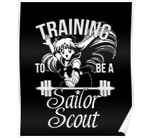 Training to be a Sailor Scout (Venus) Poster