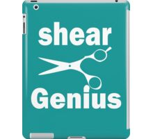 shear genius iPad Case/Skin