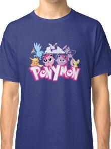 PonyMon: Friendship is captivation! Classic T-Shirt