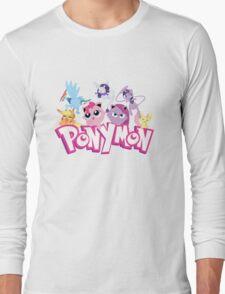 PonyMon: Friendship is captivation! Long Sleeve T-Shirt