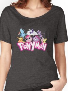 PonyMon: Friendship is captivation! Women's Relaxed Fit T-Shirt