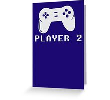Video game player Greeting Card