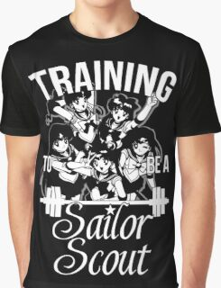 Training to be a Sailor Scout (Group) Graphic T-Shirt