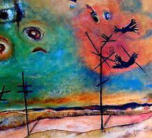 Crowfight by Redlady