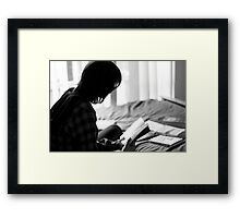 To Read Framed Print