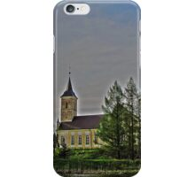 Võnnu St Jacob's Church of the Estonian Evangelical Lutheran Church iPhone Case/Skin