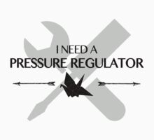 I Need A Pressure Regulator (Raven The 100) One Piece - Long Sleeve