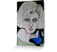Screen Goddess Jean Harlow Greeting Card
