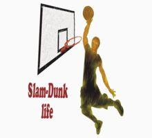 Slam-Dunk Life Kids Tee