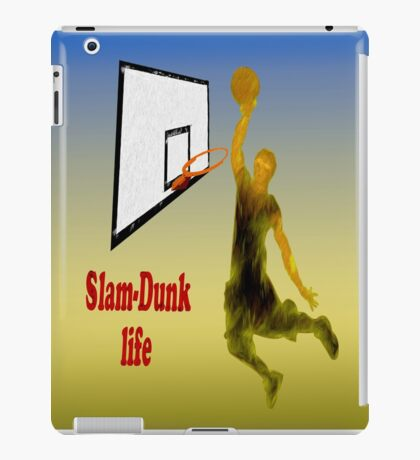 Slam-Dunk Life iPad Case/Skin
