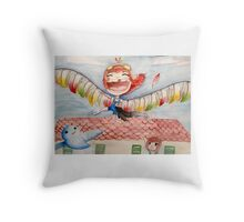 Let Your Imagination Fly Throw Pillow