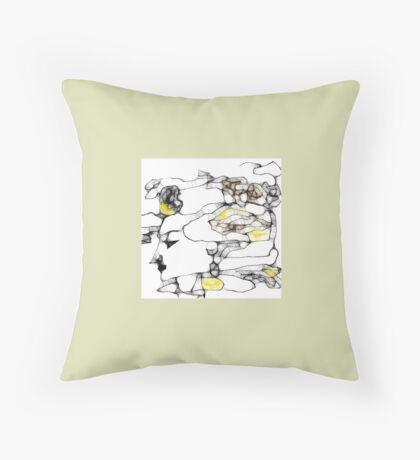Scribbler Gaia Throw Pillow