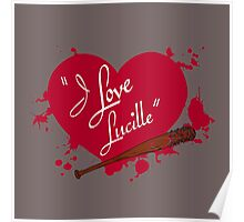 I Love Lucille Poster