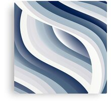 Abstract waves 11 Canvas Print