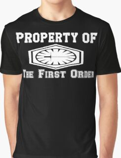 Property of The First Order Graphic T-Shirt