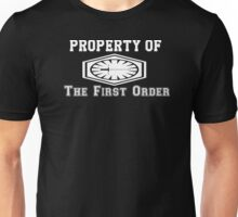 Property of The First Order Unisex T-Shirt
