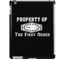 Property of The First Order iPad Case/Skin
