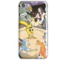 Old japan Pokemon iPhone Case/Skin