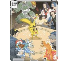 Old japan Pokemon iPad Case/Skin