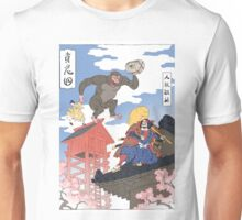 Old Japan Donkey Kong Unisex T-Shirt