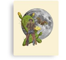 Lonely Cowboy Canvas Print