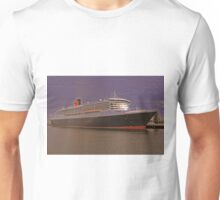 Queen Mary 2. From Photo to Painting. Unisex T-Shirt