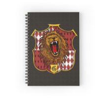 Gryffindor Crest Spiral Notebook