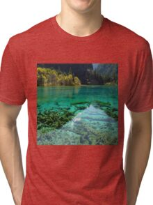 JIUZHAIGOU VALLEY 2 Tri-blend T-Shirt
