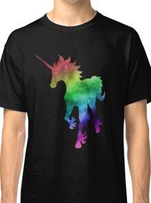 Rainbow Galaxy Unicorn Classic T-Shirt