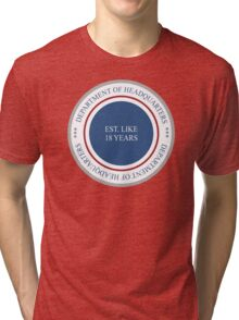Department of Headquarters Tri-blend T-Shirt