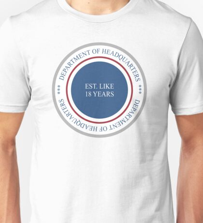 Department of Headquarters T-Shirt