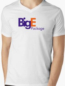 Big E's Package (FedEx) Mens V-Neck T-Shirt