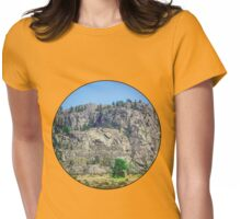 universe is inside you, Rumi Womens Fitted T-Shirt