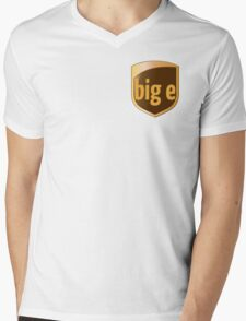 Big E's Package (UPS) Mens V-Neck T-Shirt