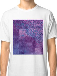 Pixel Confetti Takeover - Purples and Blues Classic T-Shirt