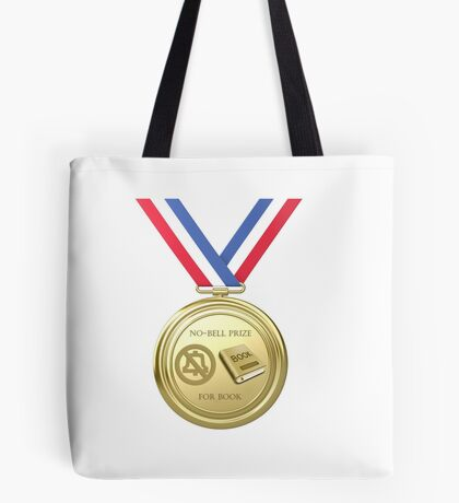 No-Bell Prize for Book Tote Bag