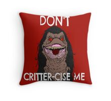 CritterCise Throw Pillow