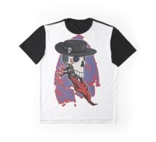 The Voodoo Cowboy Shirt and Large Sticker Graphic T-Shirt