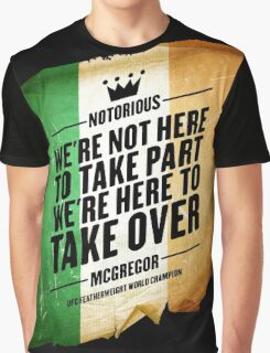 Conor McGregor - [Take Over Flag] Graphic T-Shirt