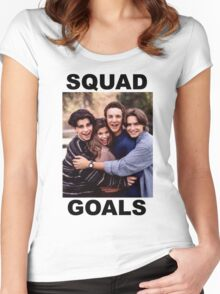 Boy Meets World Squad Goals Women's Fitted Scoop T-Shirt